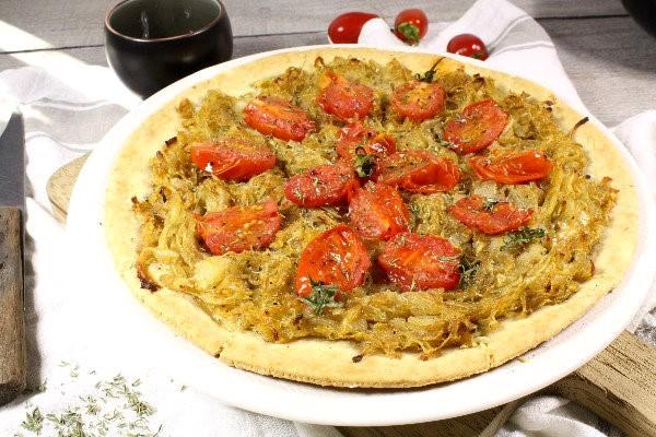 recette de la pissaladière aux tomates cerises