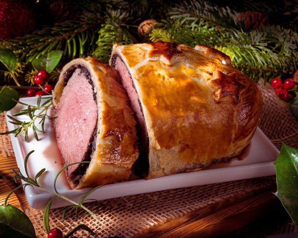 Plat n1 : Filet de bœuf en croûte aux châtaignes & Haricots verts
