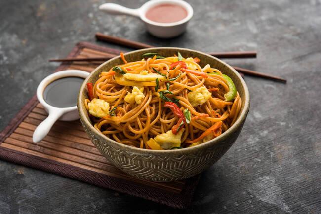 Recette Wok de petits légumes de printemps aux cacahuètes (SG)