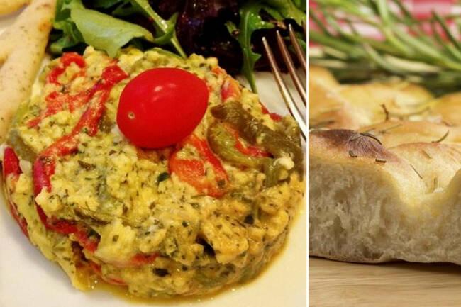 Recette Piperade aux œufs brouillés - Fougasse