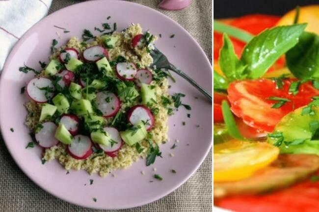 Recette Salade de boulgour radis, courgette - Tomates