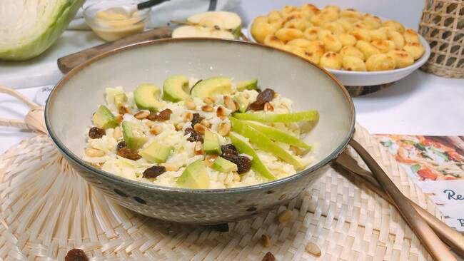 Recette Salade complète d'automne - Gnocchis poêlés