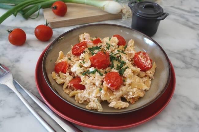 Recette Spätzle aux tomates cerises - Melon