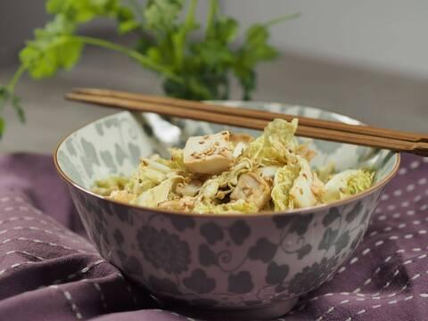 Recette de Salade de chou chinois à la dinde