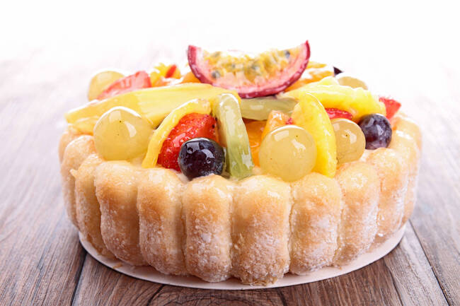 Recette Charlotte aux fruits frais