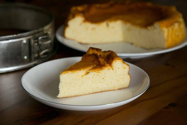 Recette Gateau au fromage blanc -Caramel au beurre salé