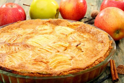 Recette de Tarte alsacienne aux pommes