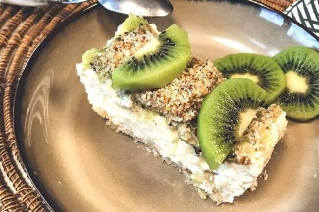 Recette Cheesecake au kiwi