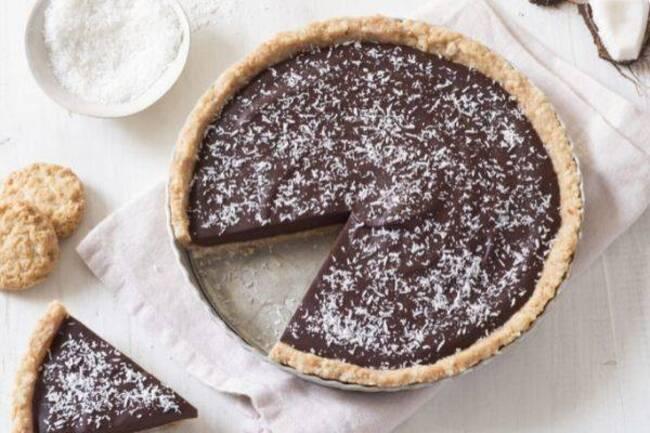 Recette Tarte chocolat-coco