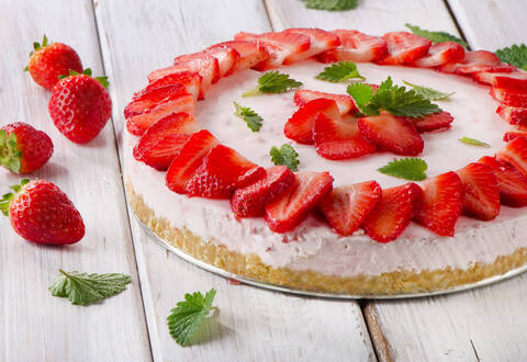 Recette de Cheesecake aux fraises