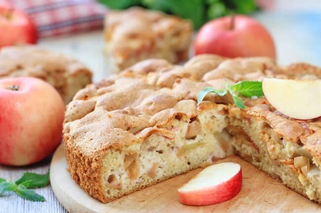Recette Gâteau manqué aux pommes