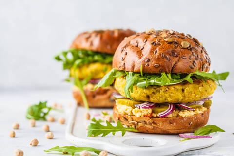 Recette de Burger végétal - Salade
