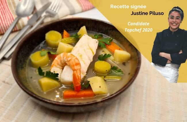 Recette Pot au feu de la mer - Justine Piluso