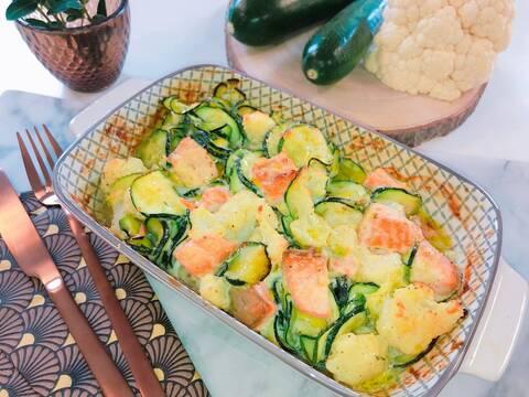 Recette de Gratin de saumon aux légumes (SG)