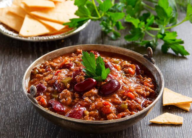 Recette Chili con carne (SG)