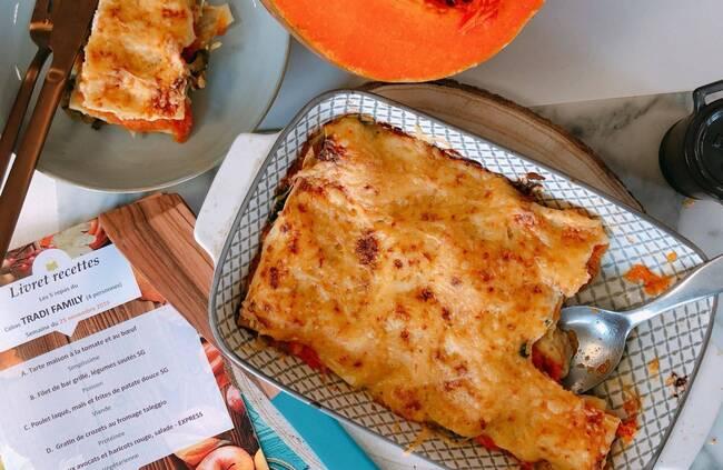 Recette Lasagnes végétariennes d'hiver