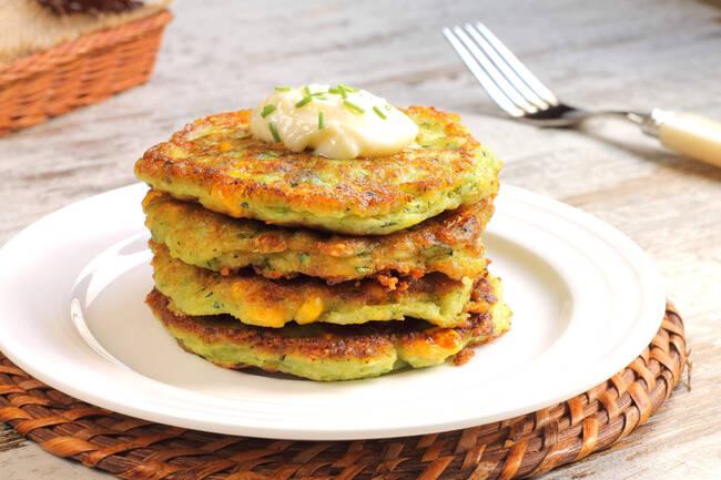 Recette Blinis aux petits légumes - Soupe du marché