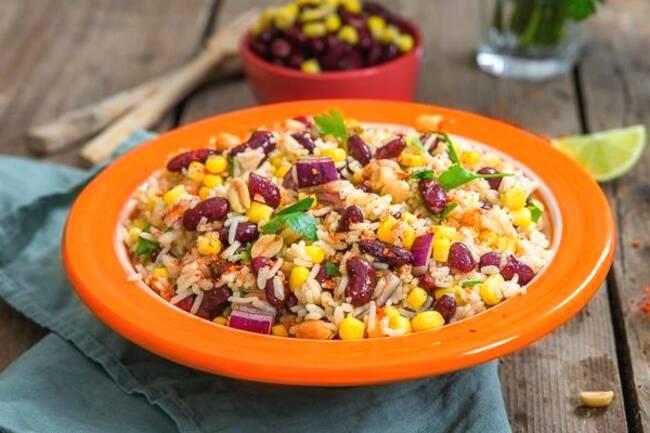 Recette Salade de riz mexicaine (SG)