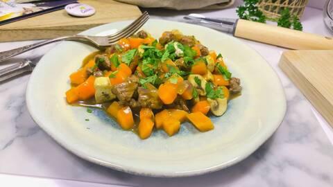Recette de Wok de bœuf-carottes (SG)