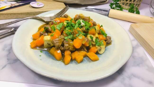 Recette Wok de bœuf-carottes (SG)