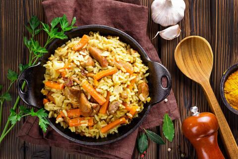 Recette de Riz Pulao aux carottes (SG)