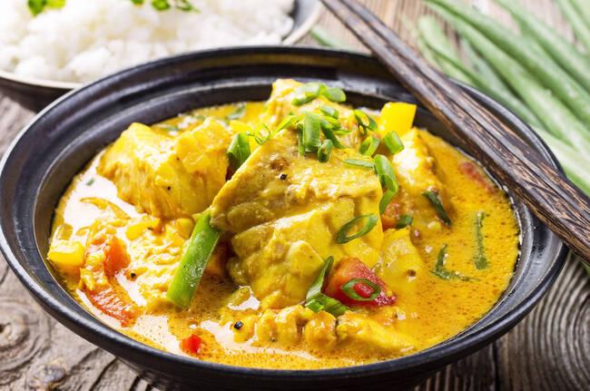 Recette Curry de poisson aux pommes de terre