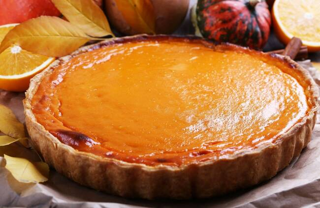 Recette Flan pâtissier coco-orange