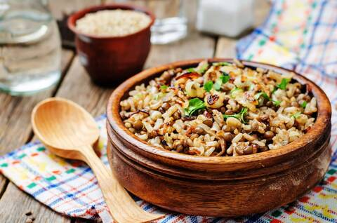 Recette de Lentilles orientales aux légumes (SG)