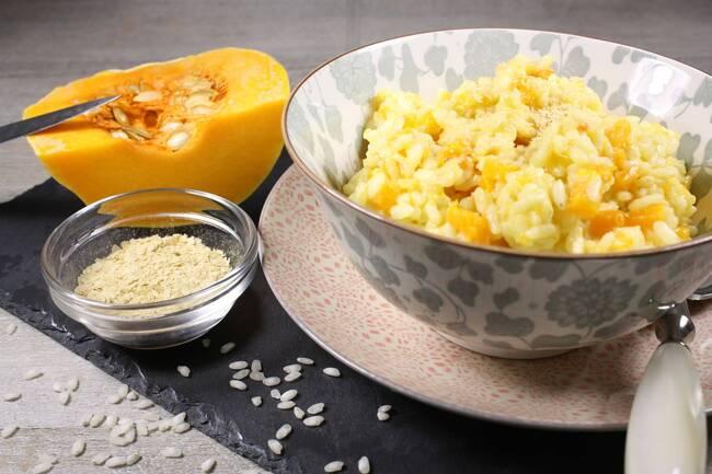 Recette Risotto véggie au butternut (SG)
