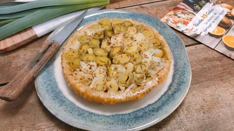Recette de Tarte tatin aux poireaux - Avocats