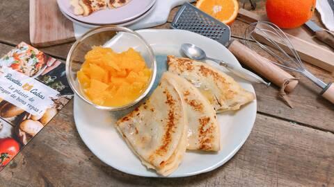 Recette de Crêpes Suzette - Salade d'Oranges