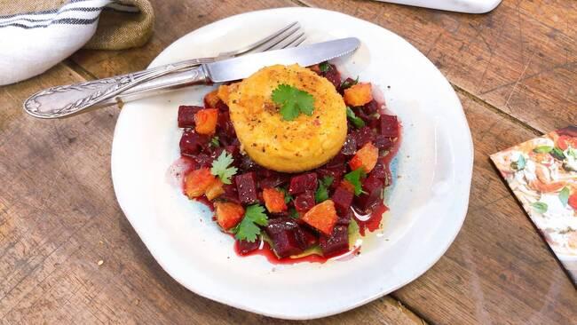 Recette Croc tofu - Salade de betteraves rouge (SG)