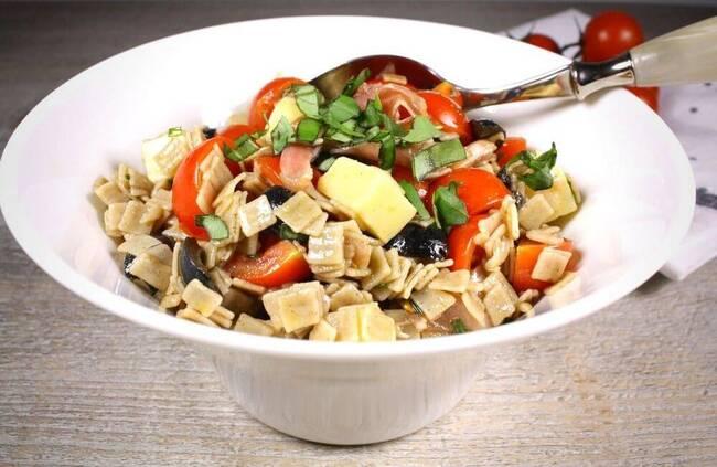 Recette Salade printanière aux crozets et à la tomme de Savoie