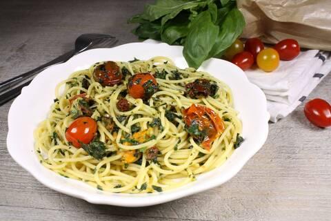 Recette de Spaghettis gremolata