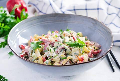 Recette Salade piémontaise façon recettes et cabas (SG)