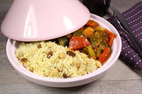Recette de Couscous végétarien de légumes