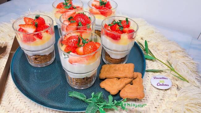 Recette Fromage blanc, lemon curd et fraises