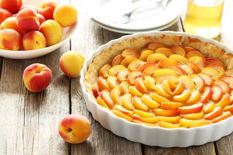 Recette de Tarte aux abricots