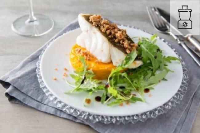 Recette Filet de carrelet en crème de potiron