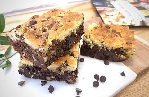 Recette de Brookies au chocolat