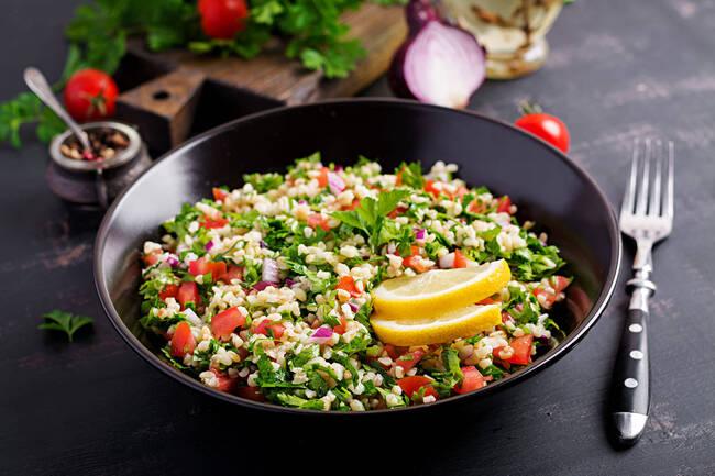 Recette Le vrai taboulé libanais - Melon frais