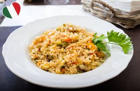 Recette de Risotto aux légumes (SG)