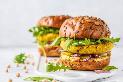 Recette Burger végétal - Carottes râpées
