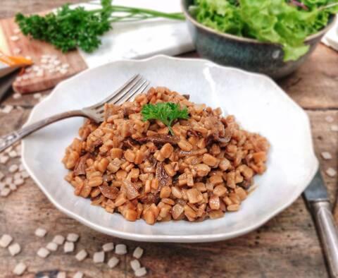 Recette Risotto de crozets aux cèpes