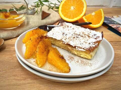 Recette de Bougatsa grecque - Salade d'oranges