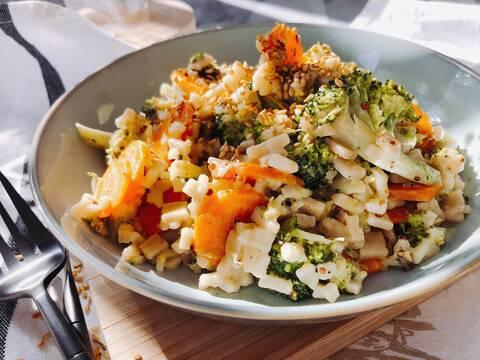 Recette de Gratin de crozets aux brocolis