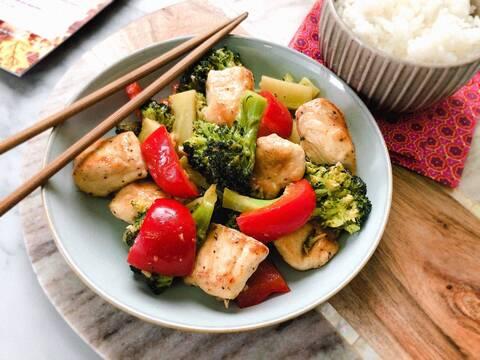 Recette de Sauté de dinde teriyaki aux légumes (SG)