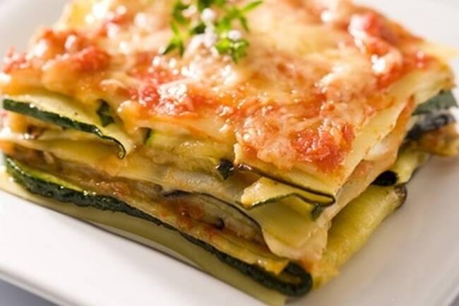Recette Lasagnes de légumes