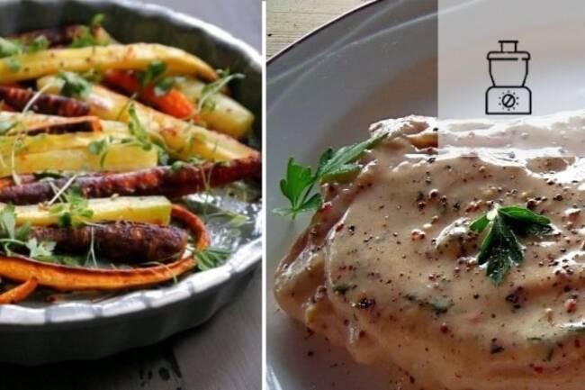 Recette Escalope de veau, carottes 3 couleurs