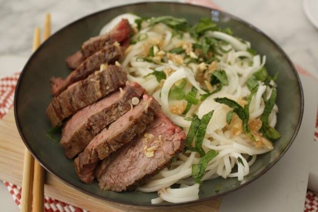 Recette Salade de bœuf thaï